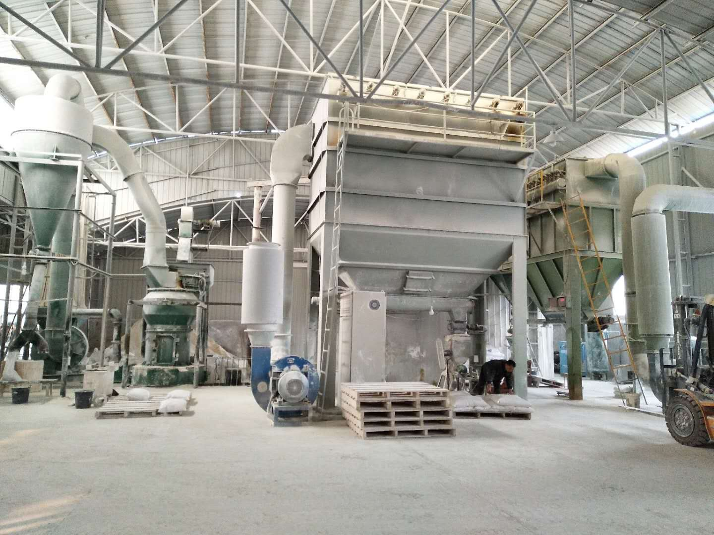 Barite grinding plant 9X Minerals